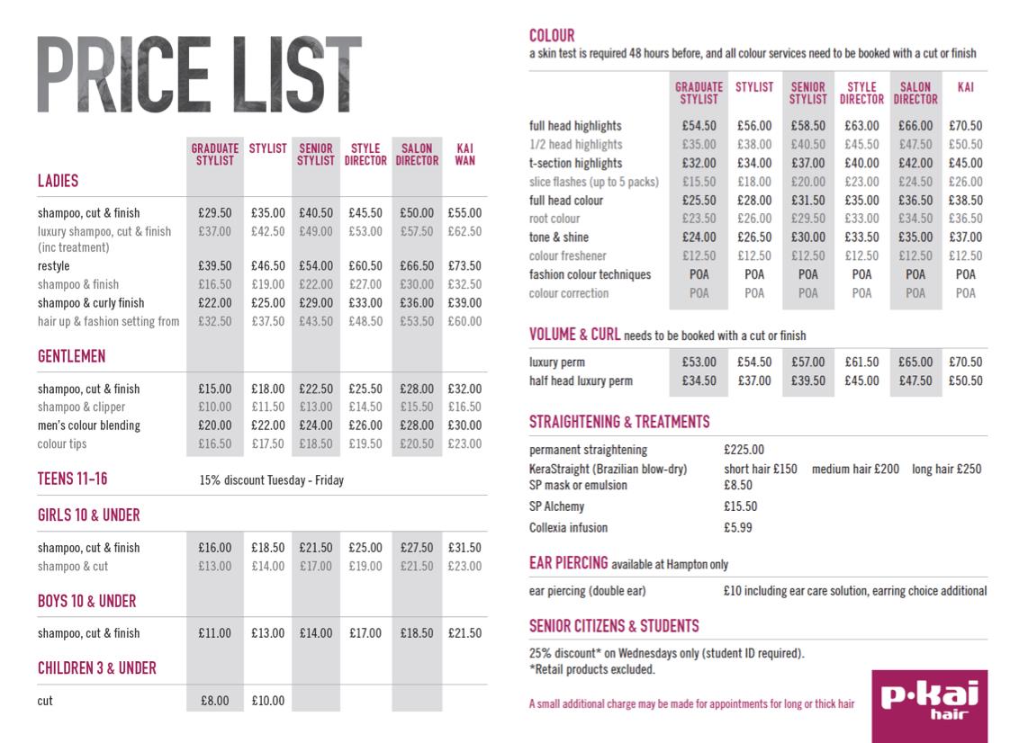 Hair Salons Lists Inc